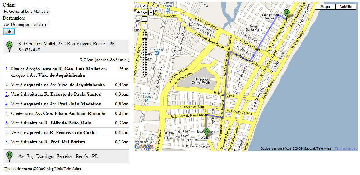 Google Maps Api Rendering Gpolylines And Gsteps Kakimoto Online