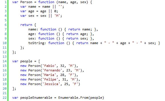LINQ for JavaScript – Kakimoto Online
